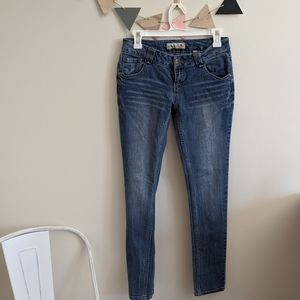 Paris Blues Light Wash Skinny Jeans Size